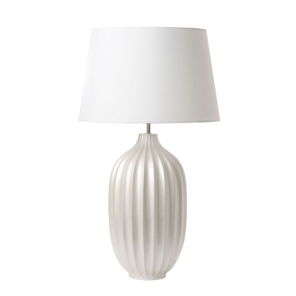 Anelle Table Lamp Pearl Large Base Only